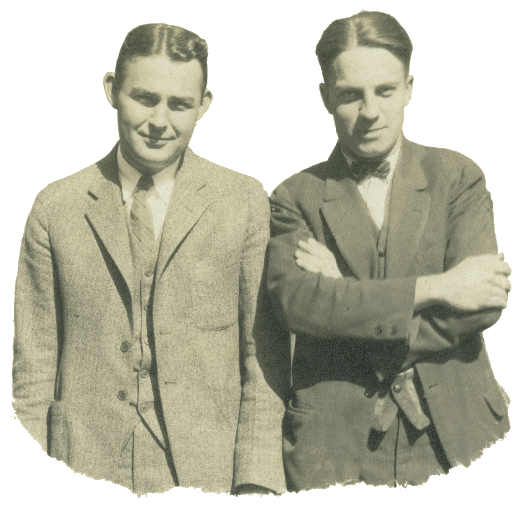 Founders of Oster Herman Oster and Russel Tewksbury